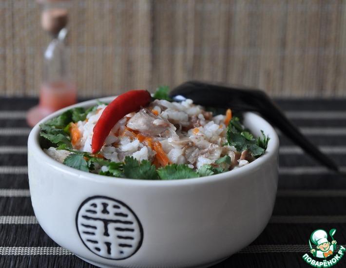 Рецепт чук рисовая каша