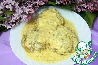 Рецепт: Тефтели из карася в сливочном соусе