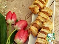 Закуска для посиделок Шашлычок ингредиенты