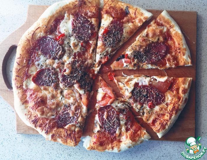 Рецепт: Пицца Дьябола