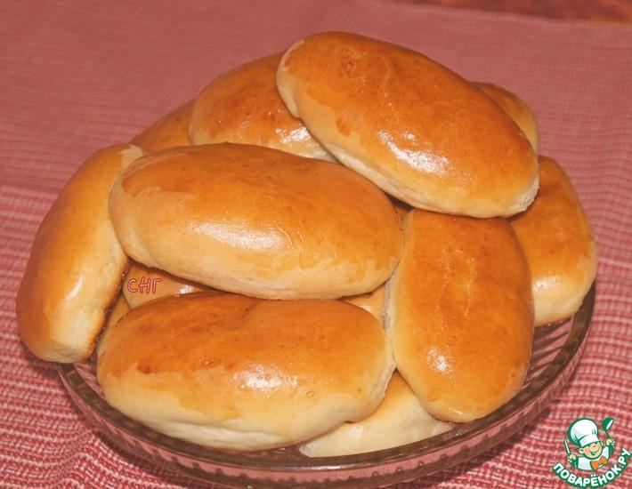 Рецепт: Милашино тесто и пирожки из него