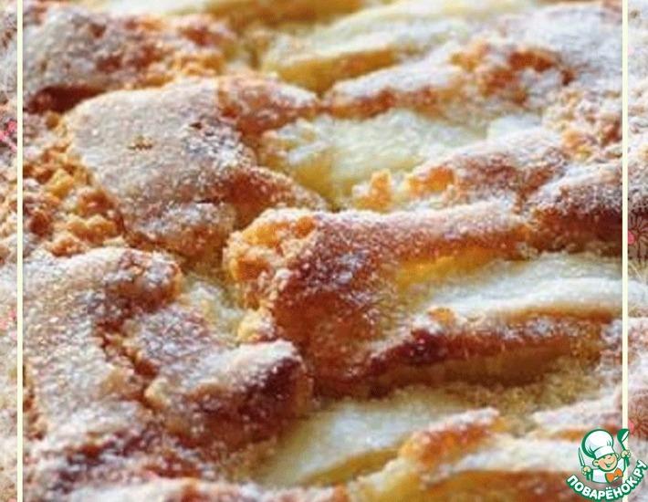 Рецепт: Простой и вкусный яблочный пирог
