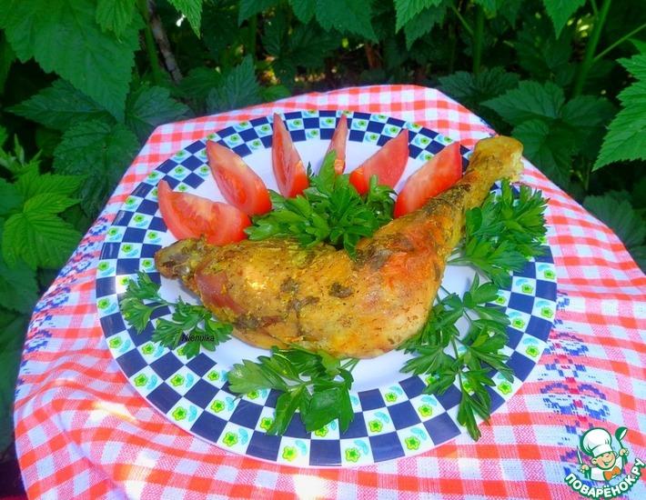 Рецепт: Куриные ножки в маринаде из кисляка
