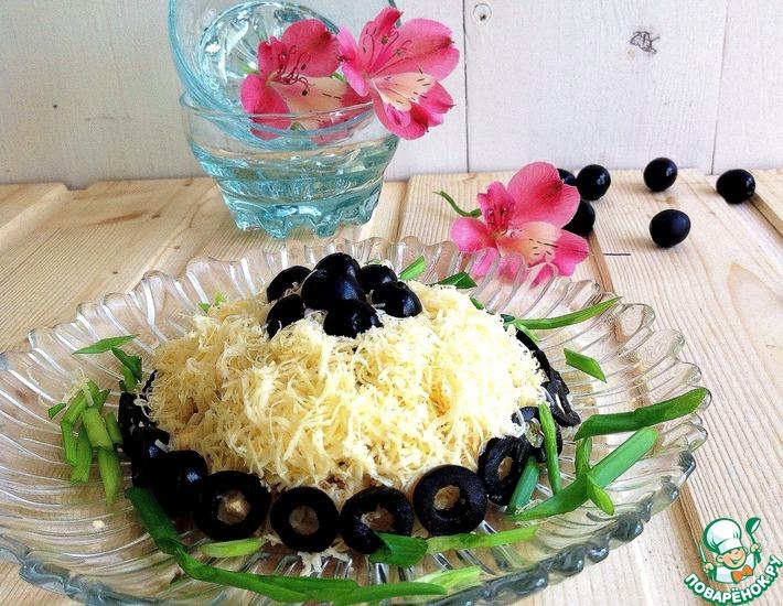 Рецепт: Салат Черный жемчуг