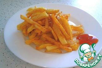 Рецепт: Картофель фри