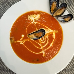 Рецепт Быстрый томатный крем-суп