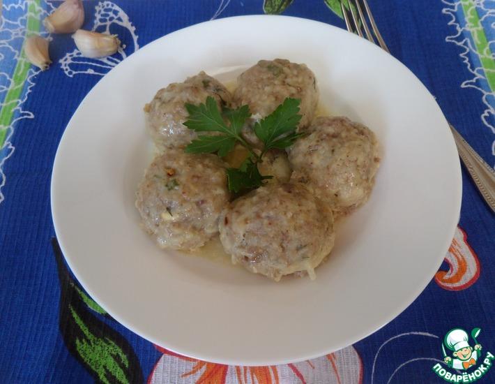 Рецепт: Тефтели в горчично-медовом соусе
