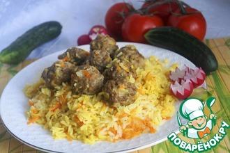 Рецепт: Плов по-таджикски Гелак Палав