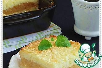 Рецепт: Рисовая запеканка с карамельной корочкой