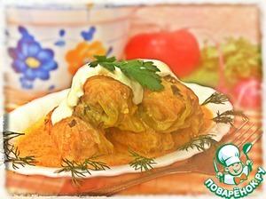 Рецепт Голубцы в сметанно-томатном соусе