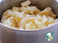 Рисовая запеканка с яблочной начинкой ингредиенты