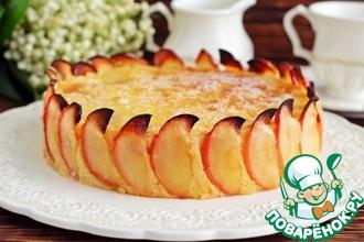 Рецепт: Рисовая запеканка с яблочной начинкой