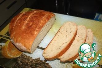 Рецепт: Горчичный хлеб в духовке