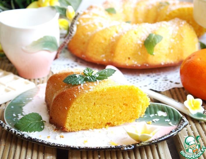 Рецепт: Морковно-апельсиновый манник