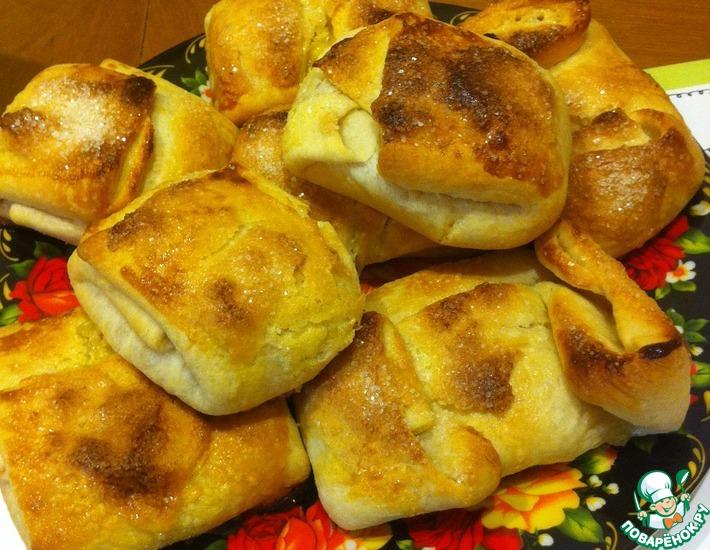 Рецепт: Апельсиновые булочки