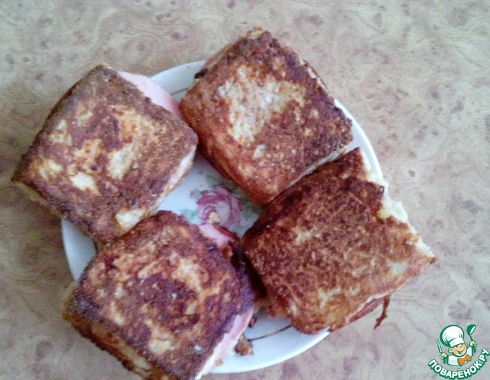 Рецепт: Бутерброды для любимого мужа