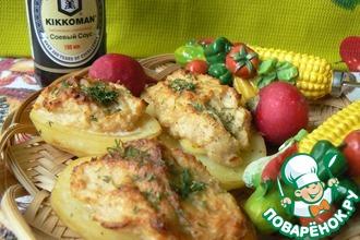 Рецепт: Картошка-гриль с сюрпризом