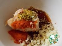 Шашлык из рубленого мяса ингредиенты