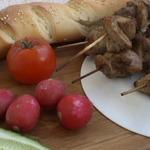 Шашлык из свинины по-баварски