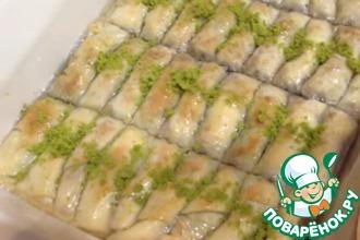 Рецепт: Турецкая пахлава