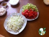 Домашняя шаурма ингредиенты