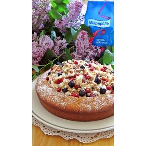 Торт-манник На пороге лета