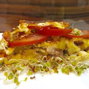 Картофель с мясом Ленивая Саша