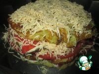 Закусочный торт Сытный кабачок ингредиенты