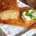 Хлеб на квасной гуще с геркулесом