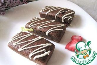 Рецепт: Манник Клубника в шоколаде
