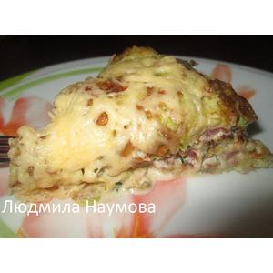 Закусочный торт Сытный кабачок