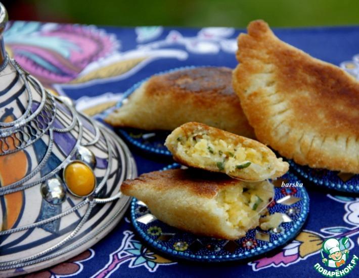 Рецепт: Восточные пирожки Брик даноня