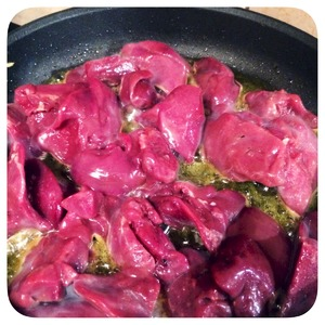 Рецепт приготовления телячьей печени по-венециански