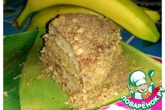 Рецепт: Торт Банановый кофе