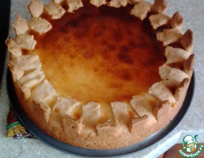Рецепт: Бананово-творожный пирог для мамочек