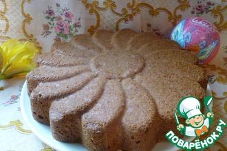 Рецепт: Бисквитный пирог на белках