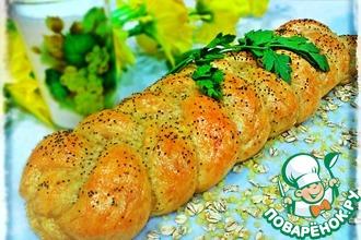 Рецепт: Овсяно-пшенный хлеб