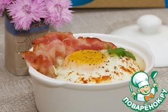 Рецепт: Каша с яйцом по-деревенски