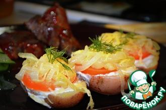 Рецепт: Картофель на скорую руку