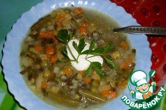 Рецепт: Суп жюльен почти классический