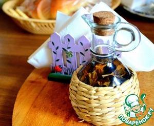 Homemade Basil vinegar