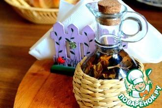 Рецепт: Домашний базиликовый уксус