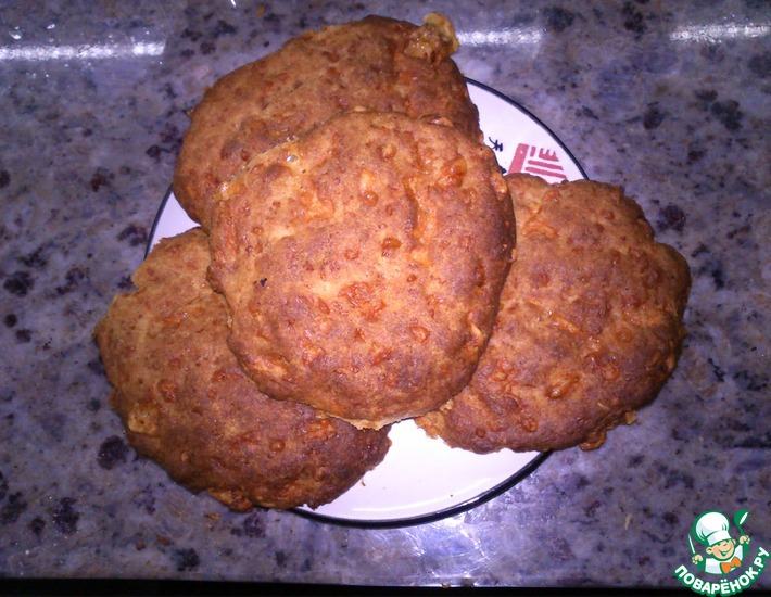 Рецепт: Ржаные коржики с сыром