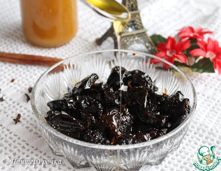 Рецепт: Маринованный чернослив