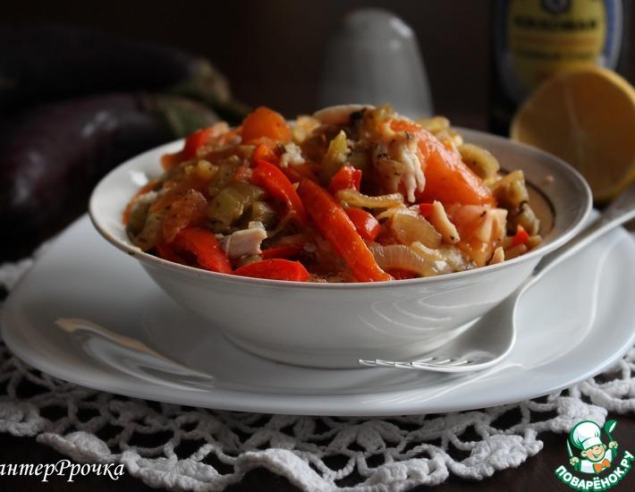 Рецепт: Салат Домашний уют
