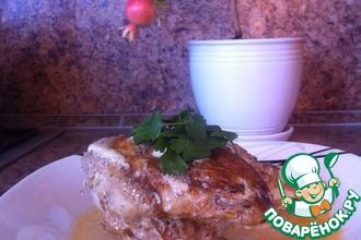 Рецепт: Цыплёнок Чкмерули