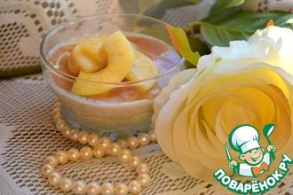 Рецепт: Кофейное парфе с карамельными яблоками