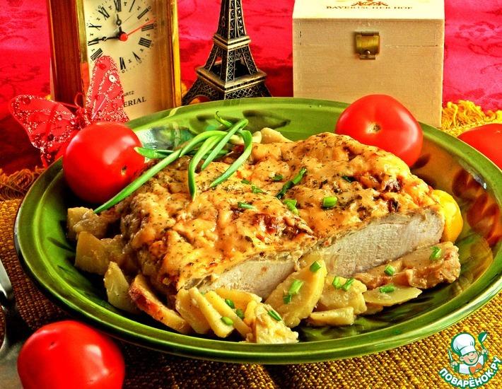 Рецепт: Куриная грудка по-французски
