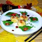 Биточки Аппетитные из филе курицы и овощей
