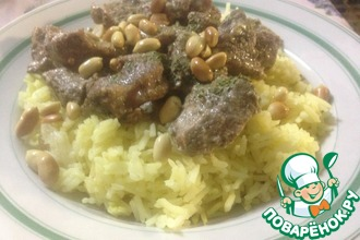Рецепт: Мансаф иорданский